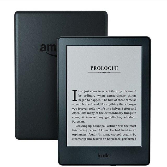 Nuevo kindle 8 2016 modelo de libro electrónico eink lector de tinta electrónica 6 pulgadas pantalla táctil wifi ereader mejor que kobo rincón boyue