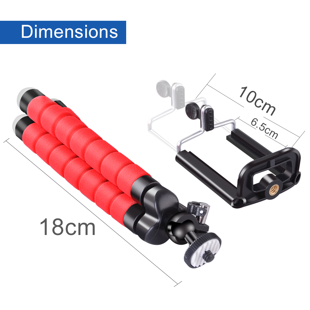Phone Holder Flexible Octopus Tripod Bracket Selfie Expanding Stand Mount Monopod Styling Accessories For Mobile Phone