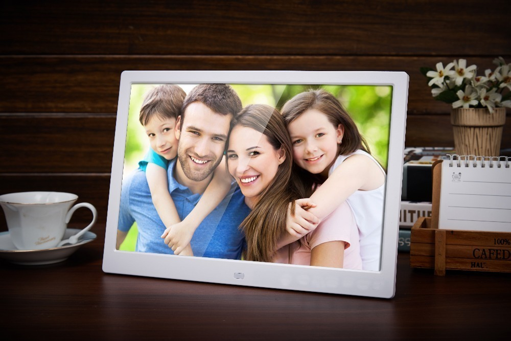 Liedao 12 Inch Digital Photo Frame TFT Screen LED Backlight HD 1280*800 Electronic Album Picture Music Mp3 Video Mp4 Good Gift 3