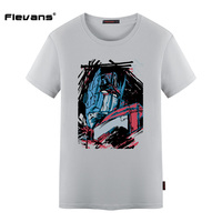Flevans New Arrival 2017 Men Summer Short Sleeve T Shirts Hot Movie Optimus Prime Printed T
