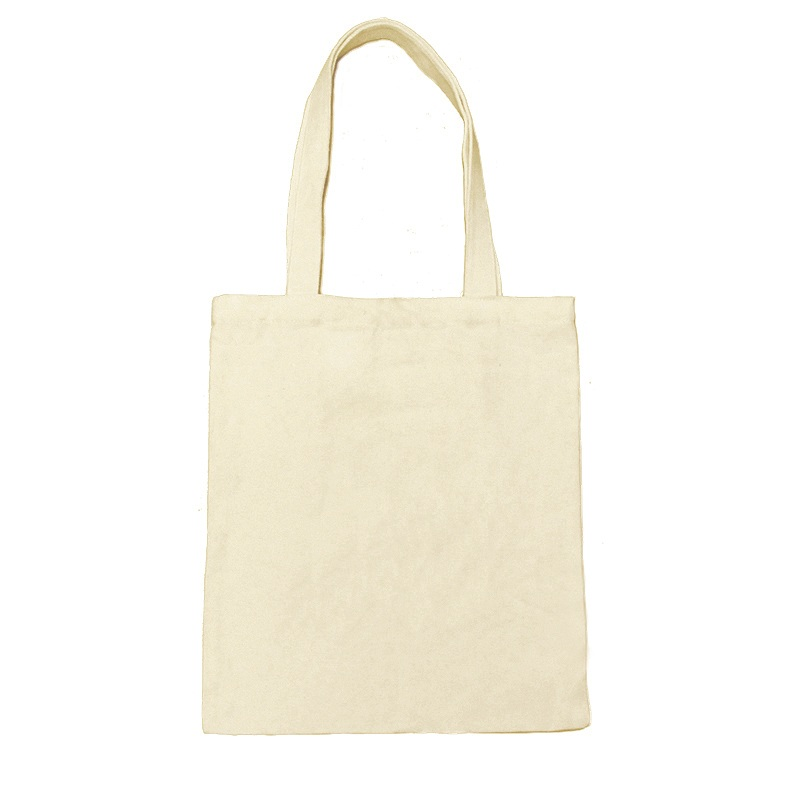1Pc Blank Cotton Bag Buy Custom Logo Design Personalized Canvas Tote Bags Recycled Shopping Printed Reusable Cheap   Reusable Bags