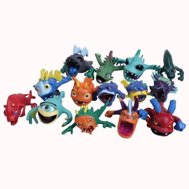 Slugterra 2 Toys 14pcs/set Slugterra Evolution Transform Mini PVC Figures Kids Boys Toys Gifts WU433
