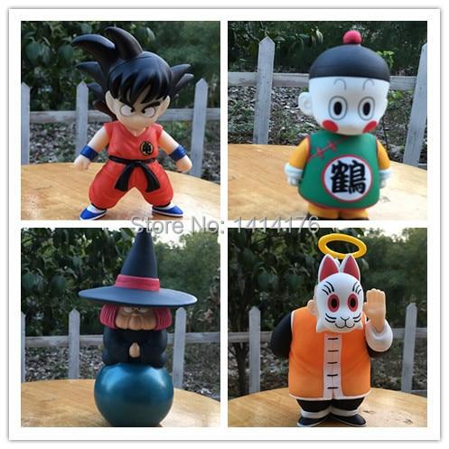 Dragon Ball Z 4pcs/lot  PVC Action Figure Toy