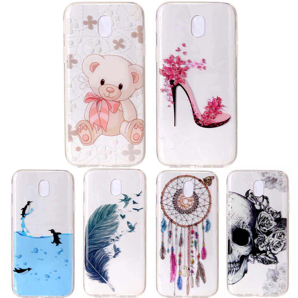 Cell Phone Case For Samsung Galaxy J7 Neo Nxt J3 J5 J7 2015 2016 2017 Prime Pro Cartoon Cute Back Cover Soft Casing Fundas