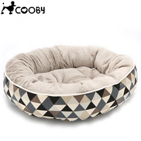 Washable Dog Beds For Small Large Dogs Pet Kennels Beds Cat House Sofa Cats Mat Plaid