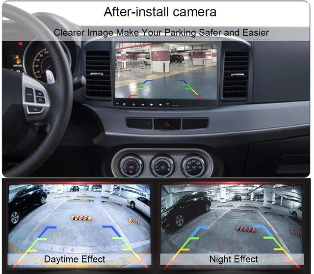 Dasaita Universal Car Rear View Camera with Fisheye HD lens Backup Camera Vehicle Parking Assiantance Camera 170 Wide Angel 1