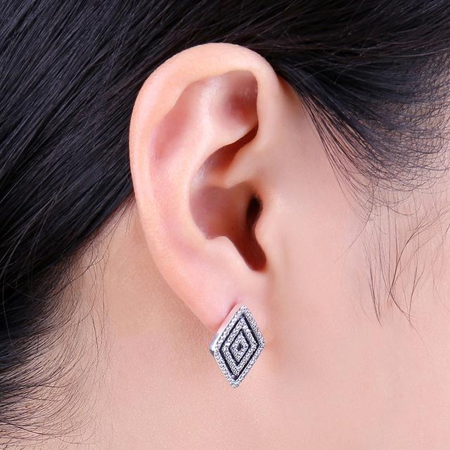 Geo Stud Earrings