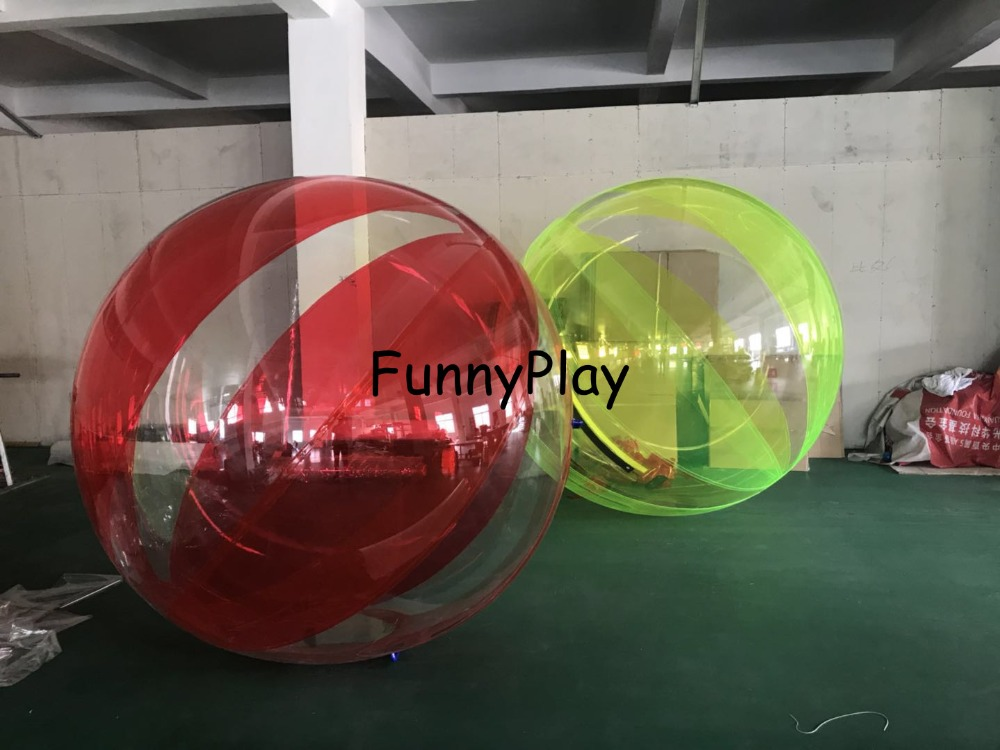 Amusement Park Free Shipping 1.8m Pvc Floating Inflatable Water Walking Ball Inflatable Human Balloon Ball Water Rolling Zorb Ball Clear And Distinctive Entertainment