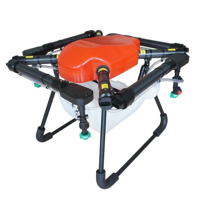 X4 10 10KG 10L professional quadcopter agricultural drone carbon ...