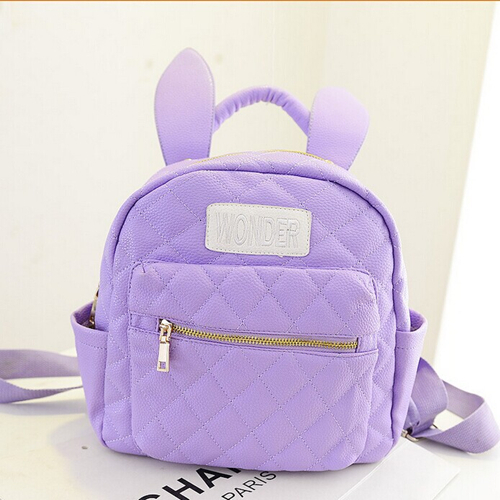5a91786f5102 Harajuku soft ice cream soft rabbit ears mini backpack small bag backpack  BA0079-in Backpacks from Luggage   Bags on Aliexpress.com