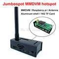 Jumbospot MMDVM hotspot + Raspberry pi + antenne + OLED + boîtier noir + carte TF 16G prête à QSO Support P25 DMR YSF