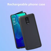 2019 Ultra Thin Battery Charger Cases for OPPO Reno Battery Case 6500mAh Portable Power Bank Pack Charging Case
