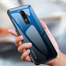Gradient Glass Case For Oneplus 6T Silicone Frame Hard Back Phone Cover 7 Pro 1+7 6 One plus 1+6T