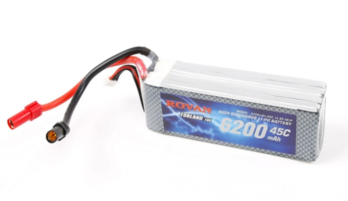 6200mah 45C 14.8 4S1P lithium battery for 1/5 Electric BAJA LT TRUCK Electronic rc car parts
