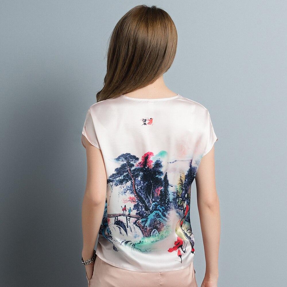 Blusas Blusa Verano Floral Beige 4xl Seda Para Tops 3d Más Vintage Casual Tamaño De Mujeres Mujeres Mujer 2017 Camisa Mujer ~ L xgPwqg