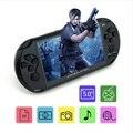 Envío libre Coolboy 5.0 pulgadas X9 inteligencia consola handheld del juego MP3 MP4 y 3000 juegos de la ayuda descarga consola portátil