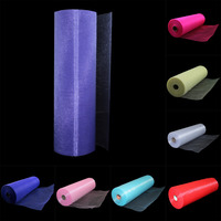 110 Meters X 35 Cm Sheer Organza Roll Wedding Chair Sash Bow Table Runner Swag Decorations