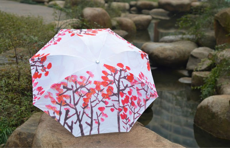 Arts Umbrella Painting Umbrella Foldable Umbrella In Umbrellas