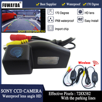 Free Shipping Wireless SONY CCD Chip Sensor Speical Car Rear View Reverse Backup Parking Safety CAMERA