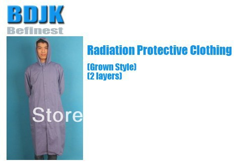 Metal Fibrosis Conductive Fabric 2 Layers  Radiation Protective Clothing