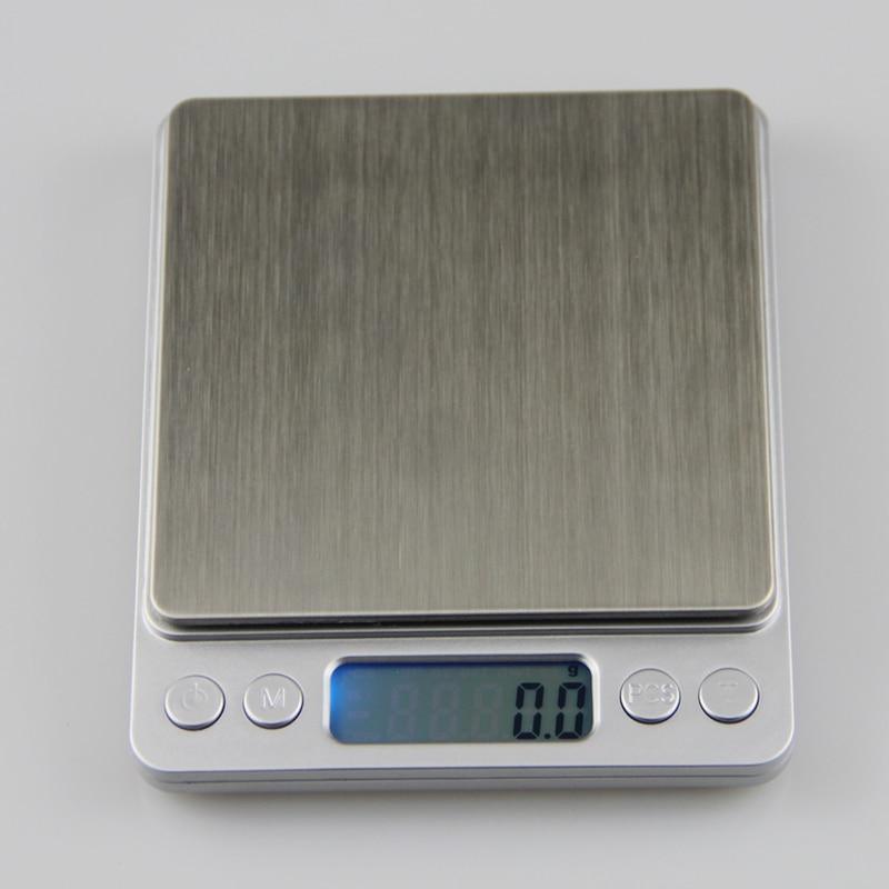 3kg 0.1gキッチン電子スケール3000g 0.1g - 計測器 - 写真 2