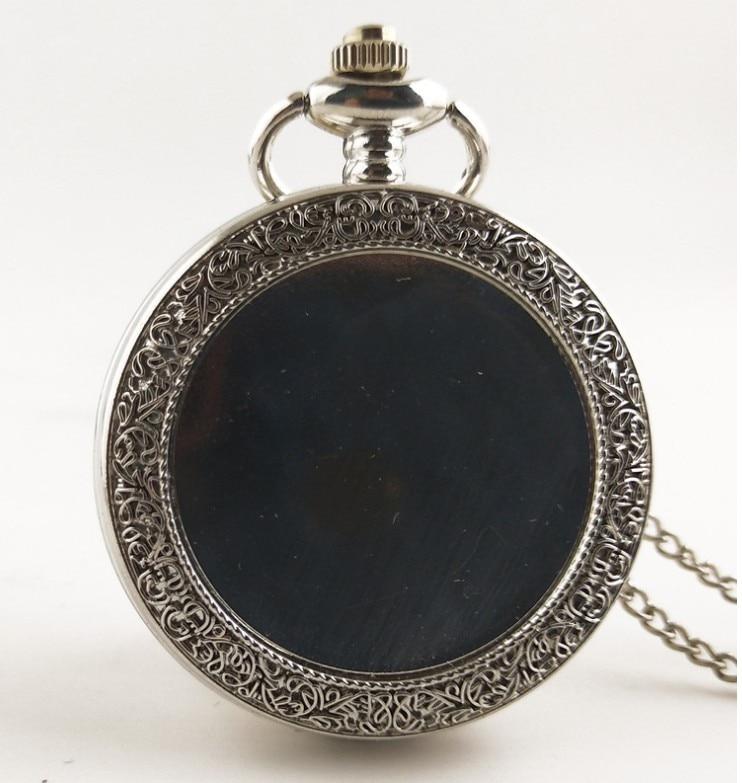 Wholesale Silver Bronze Gold DIY Clock Good Quality Pendant Men And Woman Necklace Pocket Watch Gift Quartz Watches