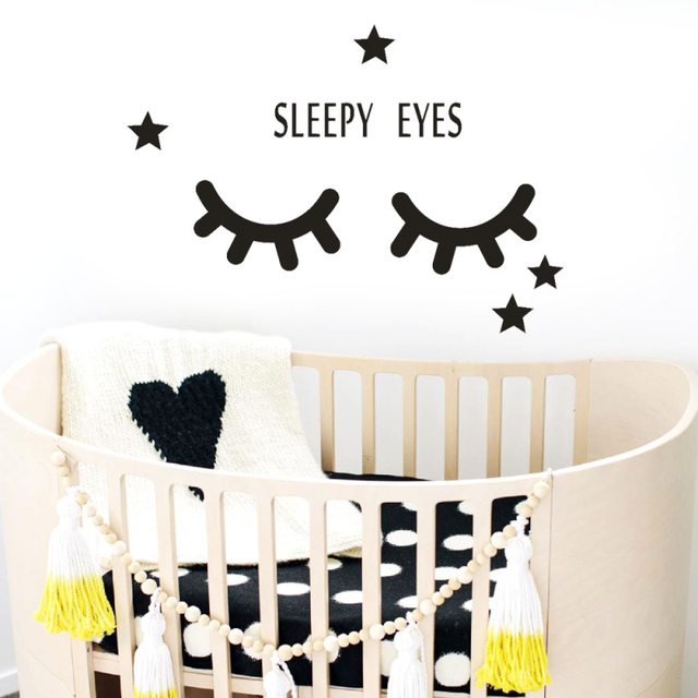 kakuder cute sleepy eyes papel de parede vivid living room home