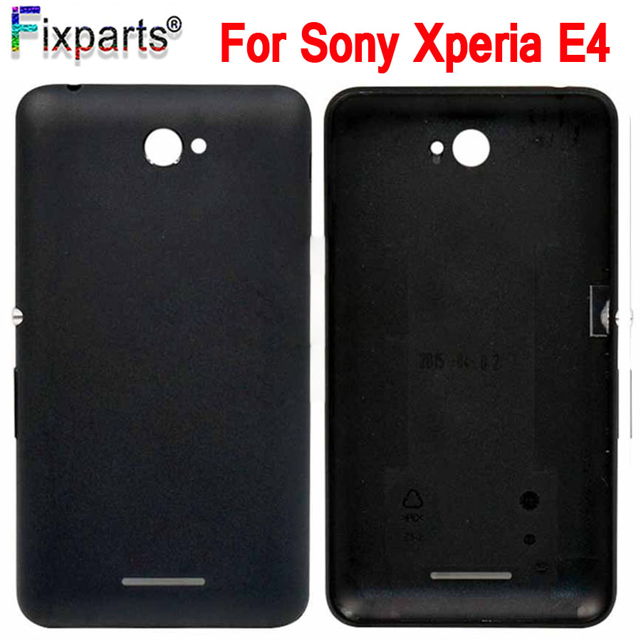 NEW For Sony Xperia E4 E2104 E2105 Back Battery Cover Rear Door Housing Case Replacement For Sony Xperia E4 Battery Cover image
