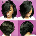 BQ HAIR 8A Peruvian Virgin Hair 3 Bundles Body Wave Short Bob Hair For Black Women Halloween Human Hair Bundles