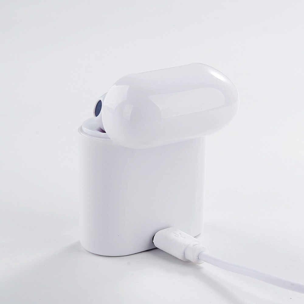 Gorąca sprzedaż i7s TWS Mini bezprzewodowe słuchawki Bluetooth słuchawki stereo zestaw słuchawkowy z pudełkiem ładowania Mic dla apple iphone wszystkich smartfonów