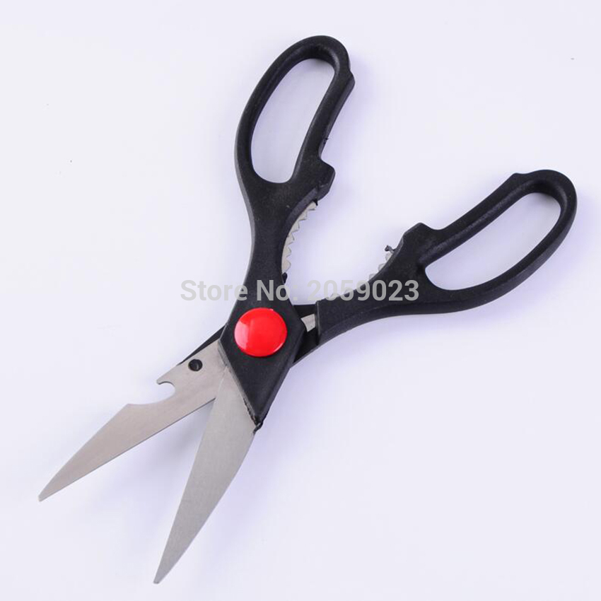 21x8cm Steel Kitchen Scissor Multifunctional Poultry Nutcracker Bottle Opener Bone Cutter Cook Tool Shear Cutter hot sale kitchen cooking tool egg cutter stainless steel shell opener