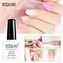 Rosalind 10 Ml Cepat Builder Gel Nail Polish Rendam Off Set untuk Perpanjangan Kuku Kuku Semi Permanen Gel Varnish Poly gel Base Top(China)