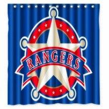 Vixm Home Texas Rangers Shower Curtains Movies Symbol