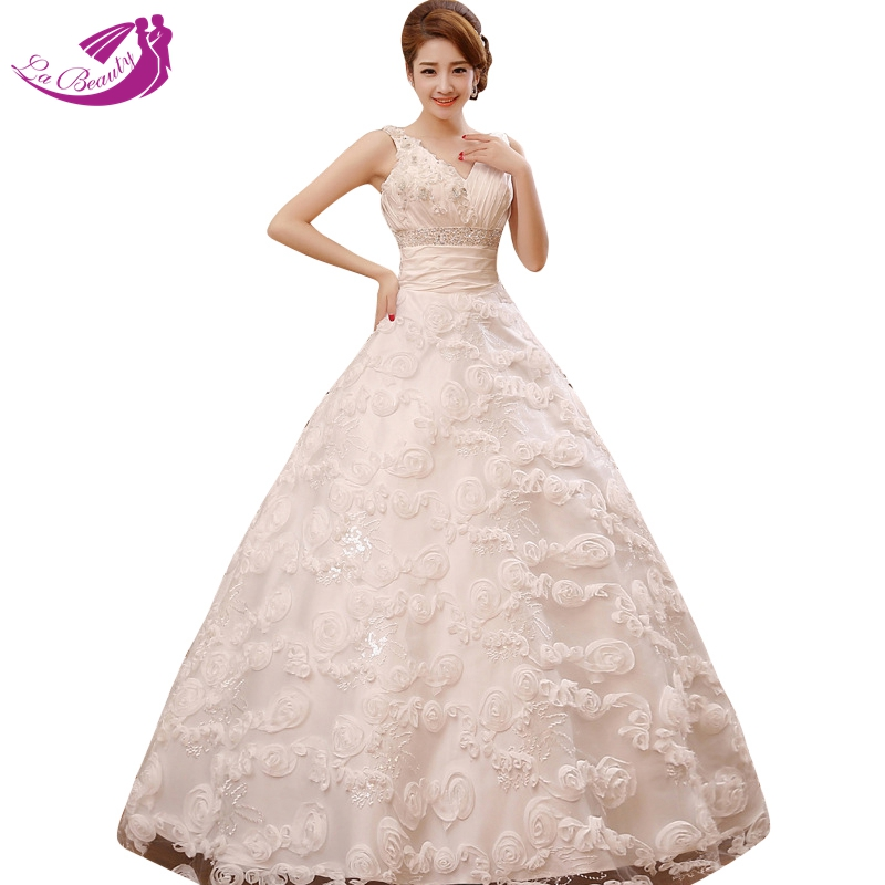 Wedding Dresses  Made In : Wedding dress crystal beading gowns cheap dresses made