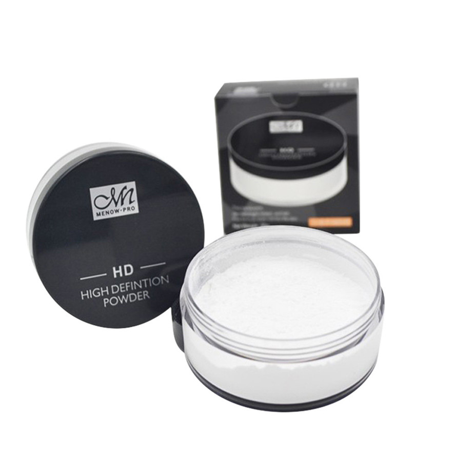 Brand New MENOW 1BOX 20g Waterproof Cosmetic Translucent Loose Powder High Quality Makeup Foundation Finishing Powder