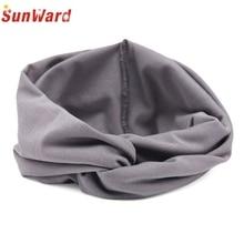 SunWard Good Deal  2017 New Hot Sale Women Headwear Cross Cloth Headband Turban Headscarf Wrap  1pc