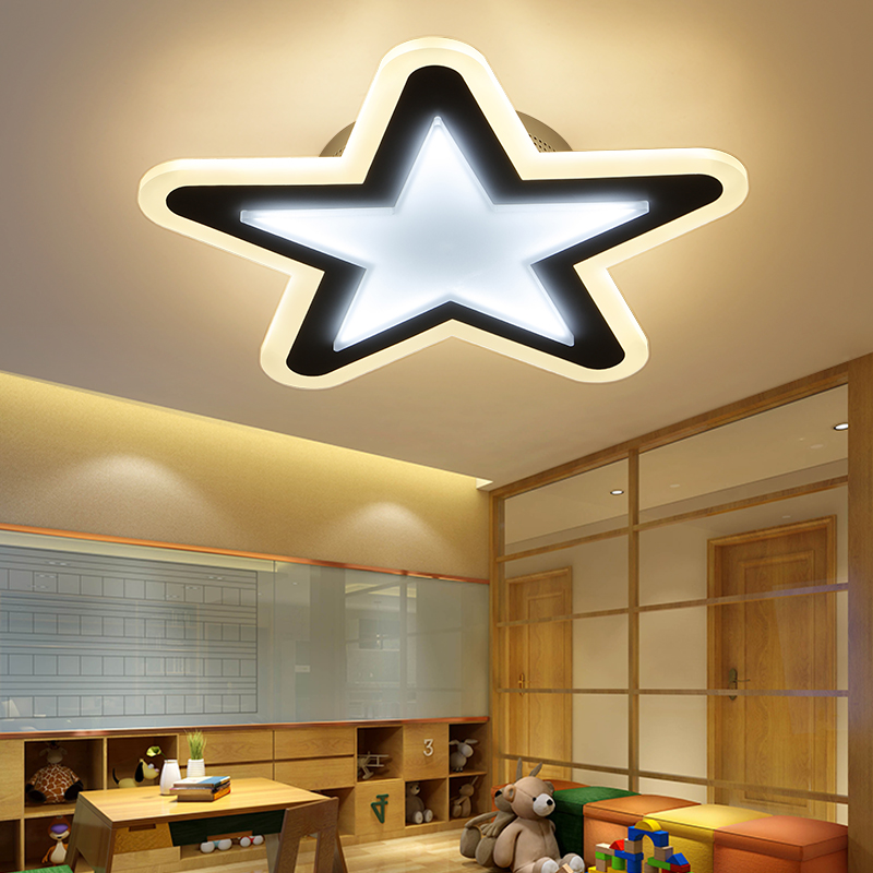 High Brightness Modern Led Ceiling Lights For Children Room Living Room Bedroom Dimming+RC Room Ceiling Lamp Fixtures