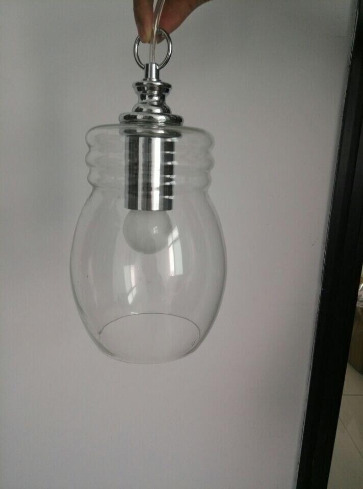 Ikea northern European personal clear kettle glass pendant lights ...