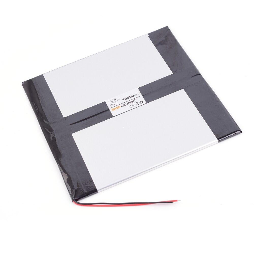 3.7 V 10000 mAh Recarregável li-Bateria de Polímero Para CHUWEI Hi12 Sistema Dual 64G Chuwi HI10 plus CWI527 CW1527 10.8