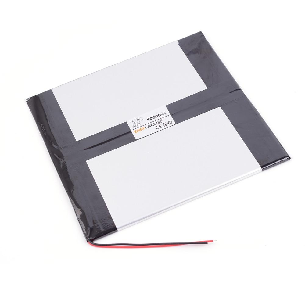 3.7V 10000mAh Rechargeable li-Polymer Battery For tablet PC CHUWEI Hi12 Dual System 64G Win10 Tablet PC 12-inch Ultrabook original romoss polymos 10 air 10000mah dual usb li polymer power bank