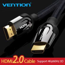 Vention HDMI Cable HDMI to HDMI cable HDMI 2.0 4k 3D 60FPS Cable for Splitter Switch TV LCD Laptop PS3 Projector Computer Cable(China)