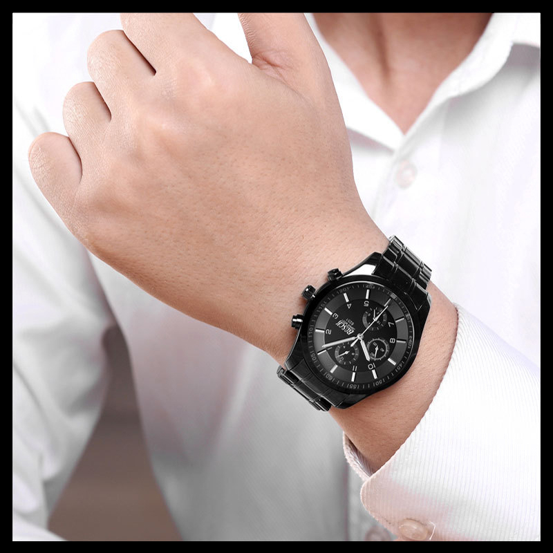 BOSCK Top Luxury Brand Watch Män Casual Brand Klockor Man Quartz - Herrklockor - Foto 4