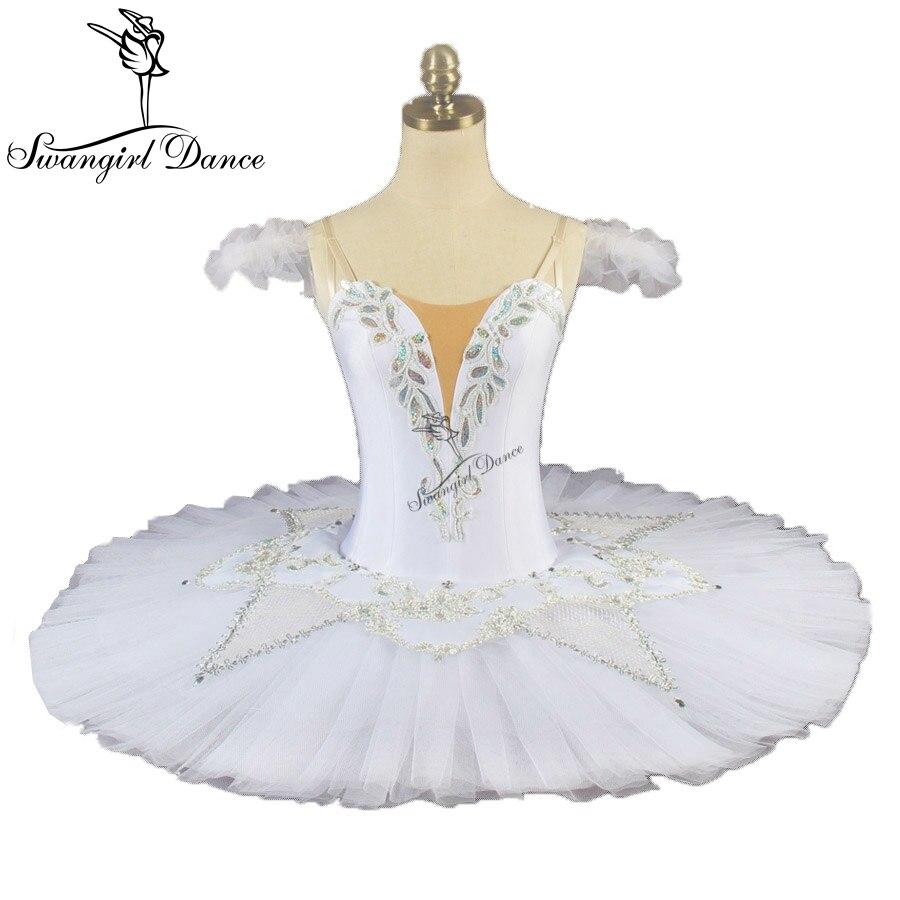 white swan lake professional tutu girls ballerina tutu women platter tutu pancake ballet tutu performance BT9076