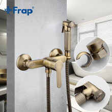 FARP Bidet faucets new antique toilet cleaner set bronze clean hand shower spray bidet sprayer gun toilet faucets shower bidets(China)