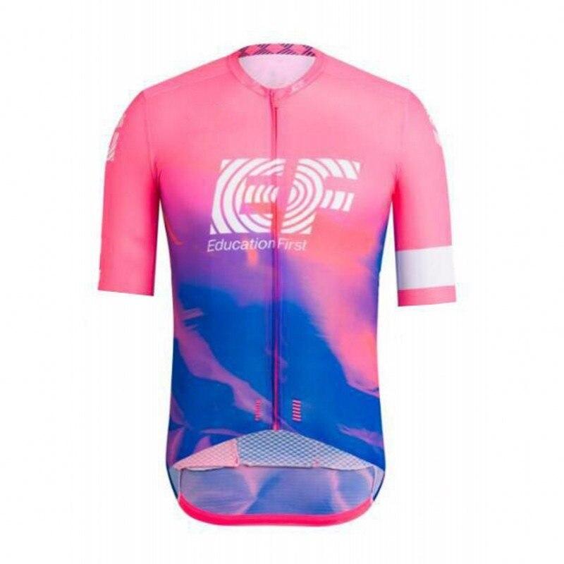 2019 pro team educação em primeiro lugar ciclismo jersey Bicicleta MTB maillot respirável quick dry da bicicleta roupa ropa ciclismo só