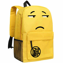 New Cute Emoji School Bags Children Students Disdainful Express Backpacks for Teenager Casual Unisex Laptop Mochila Feminina