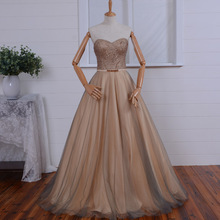 Womens elegant robe de soire sexy sweetheart long Evening Dress 2015 new arrival formal dresses a-line Gown beading lace up
