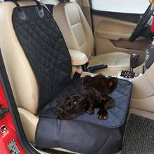 Waterproof Pet Bucket Seat Cover Dog Car Front Seat Cover Single Seat Cover for Dog Pet Seat Protector (Black) DXY88
