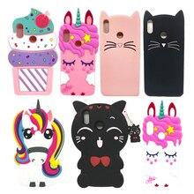 For Xiaomi Redmi S2 Fundas Unicorn Horse Cat Stitch Soft Silicone Back
