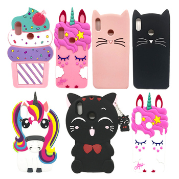 For Xiaomi Redmi S2 Fundas Unicorn Horse Cat Stitch Soft Silicone Back Case Cover RedmiS2 S 2 Global Version 5.99 Phone Coque xiaomi redmi s2 case cover transparent ultra thin soft silicone silm plating edge tpu back cover for xiaomi redmis2 phone coque